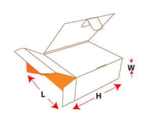 Bookend Packaging Box