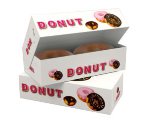 Donut Packaging Boxes