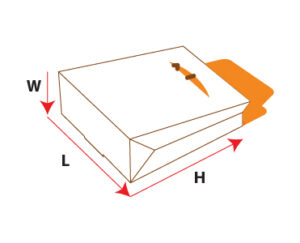 Gable Bag Tuck End Packaging Boxes