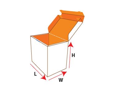 Lock Cap Auto Bottom Packaging Box