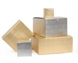 Gold Foil Packaging Boxes