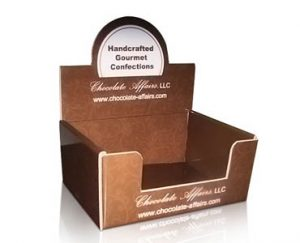 Custom Chocolate Display Boxes