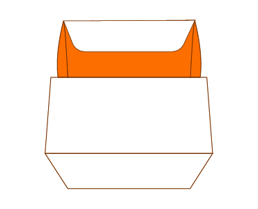 Four Corner Tray Tuck Top Packaging Boxes