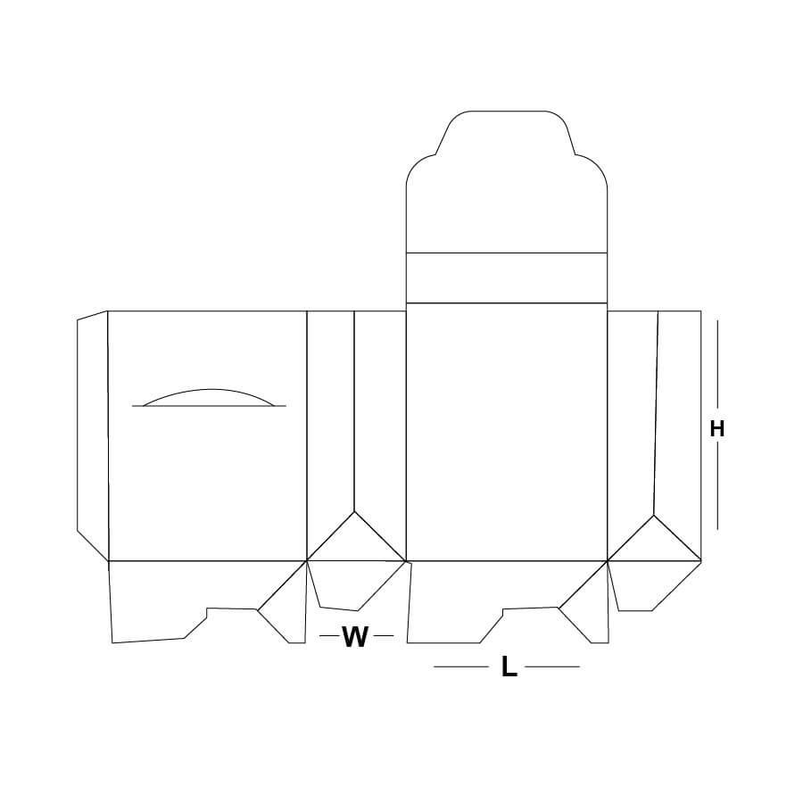 Custom Gable Bag Box