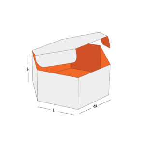 Hexagon Packaging Box