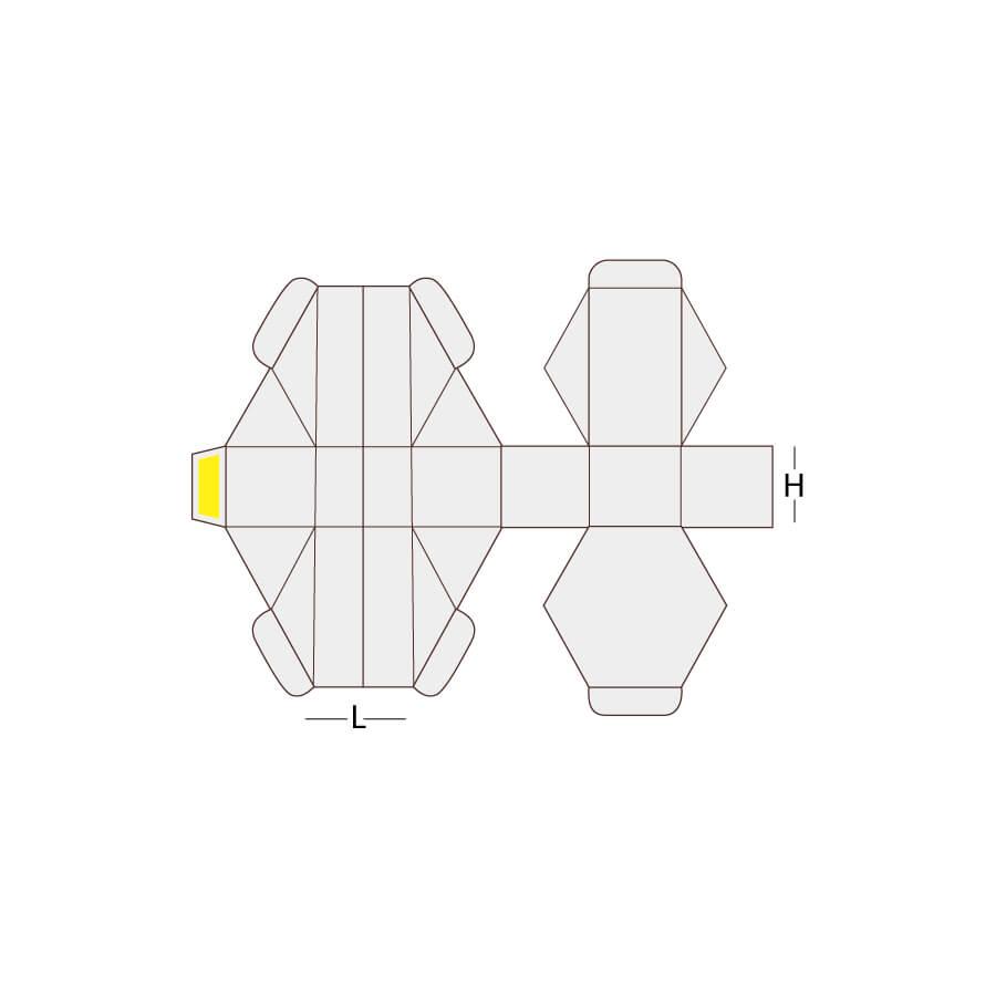 Hexagon Packaging Box