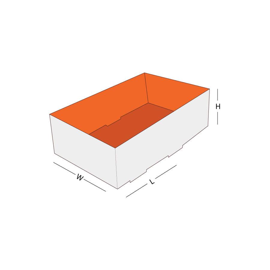 Custom Style Foot Lock Tray Box