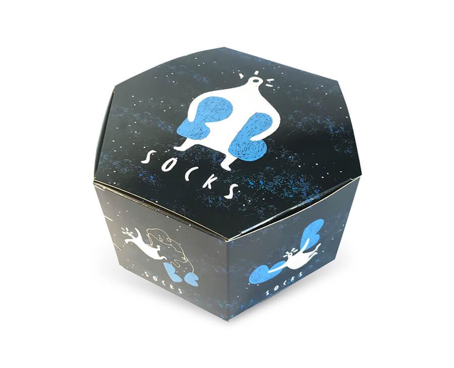 Custom Socks Box